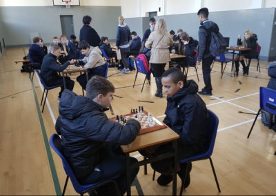 1st year JCSP chess tournament